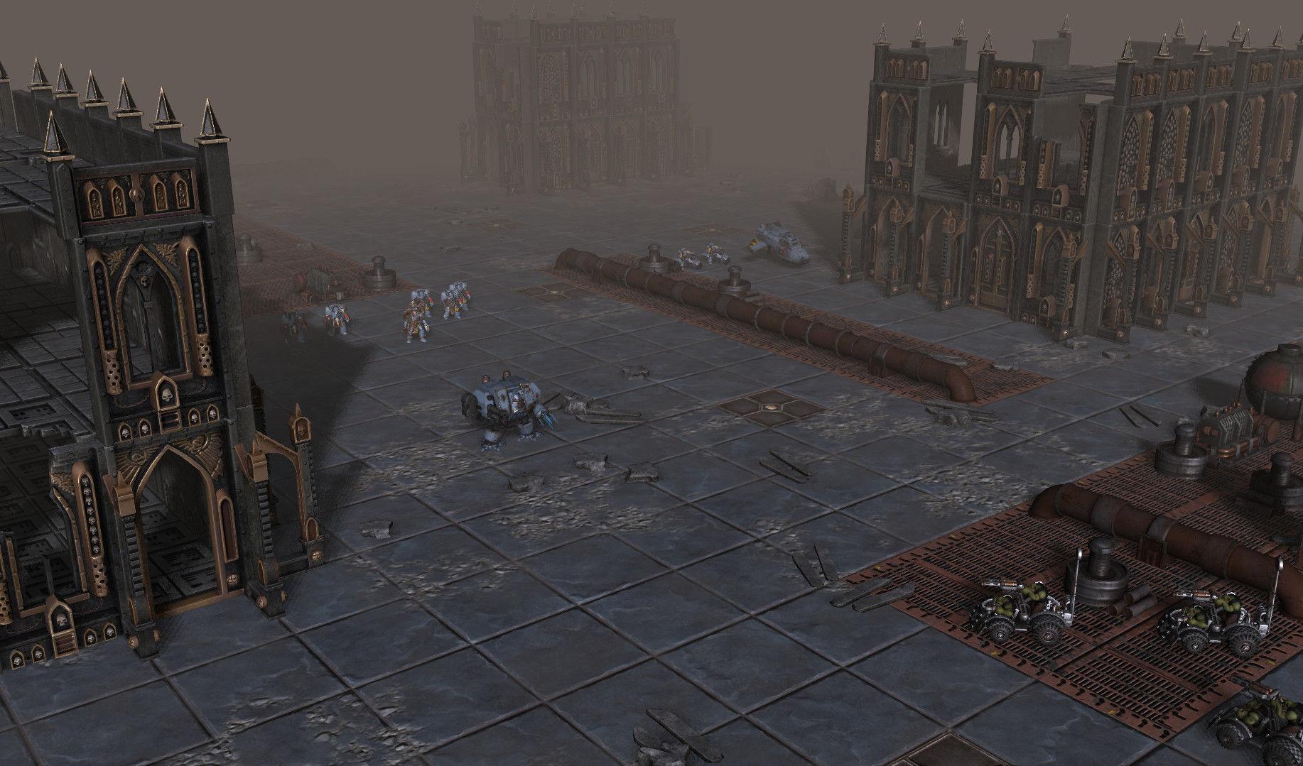 Warhammer 40,000: Sanctus Reach llegará a PC a finales de año.