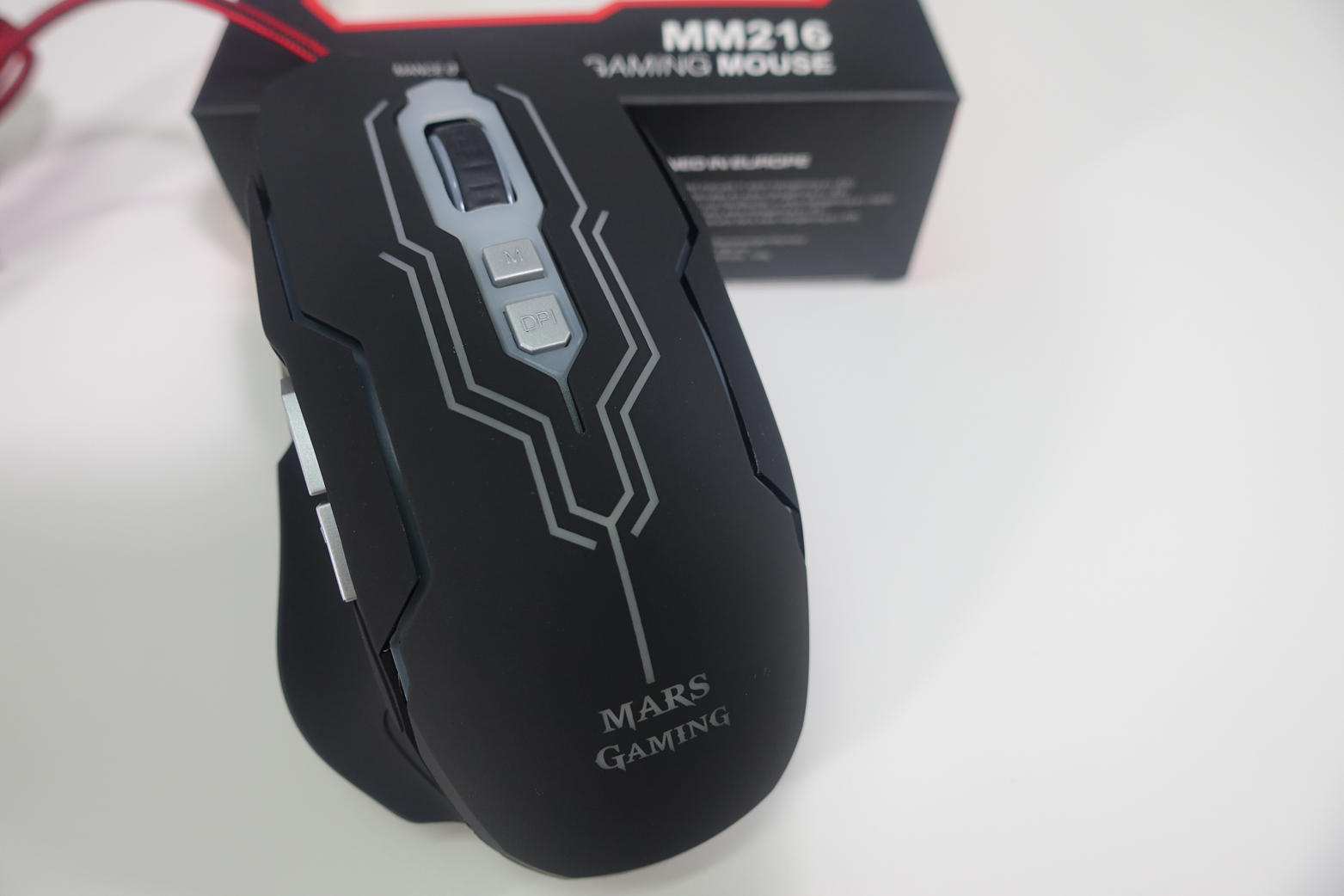 ratón MM216 de Mars Gaming