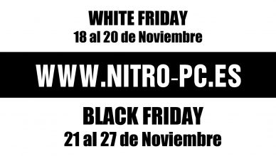 El Black Friday ha llegado a NitroPC