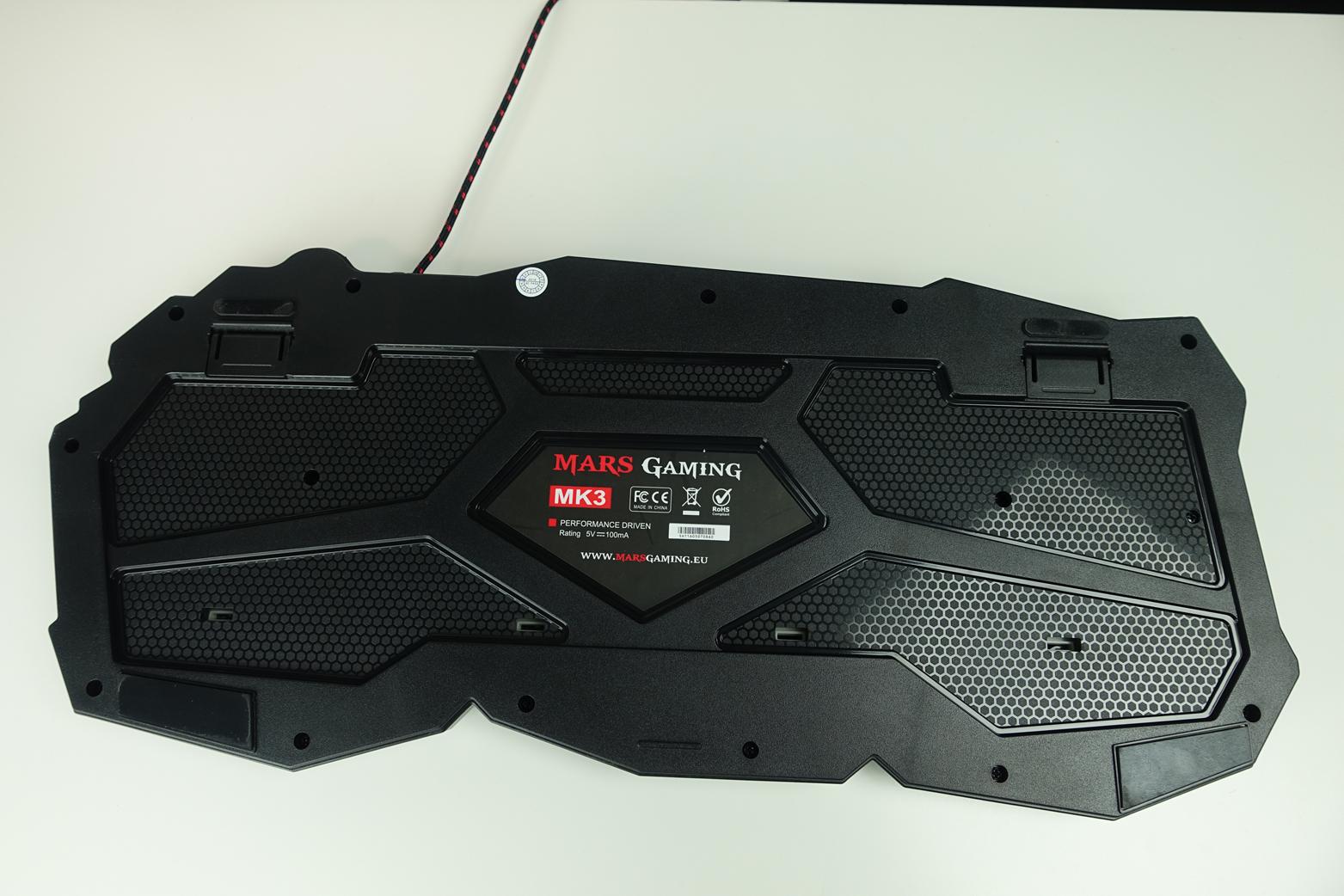 Teclado MK3 de Mars Gaming 2
