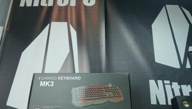Teclado MK3 de Mars Gaming 3