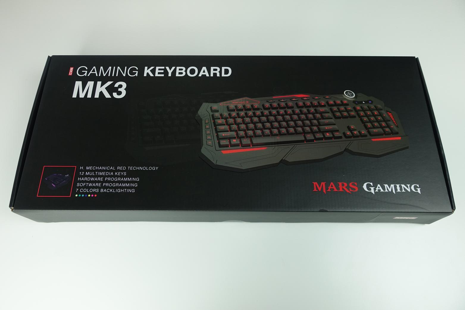 Teclado MK3 de Mars Gaming