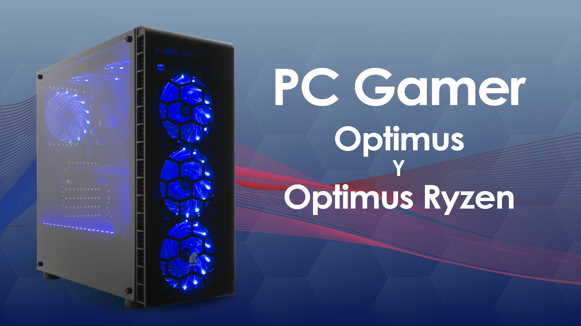 PC Gamer Optimus y Optimus Ryzen