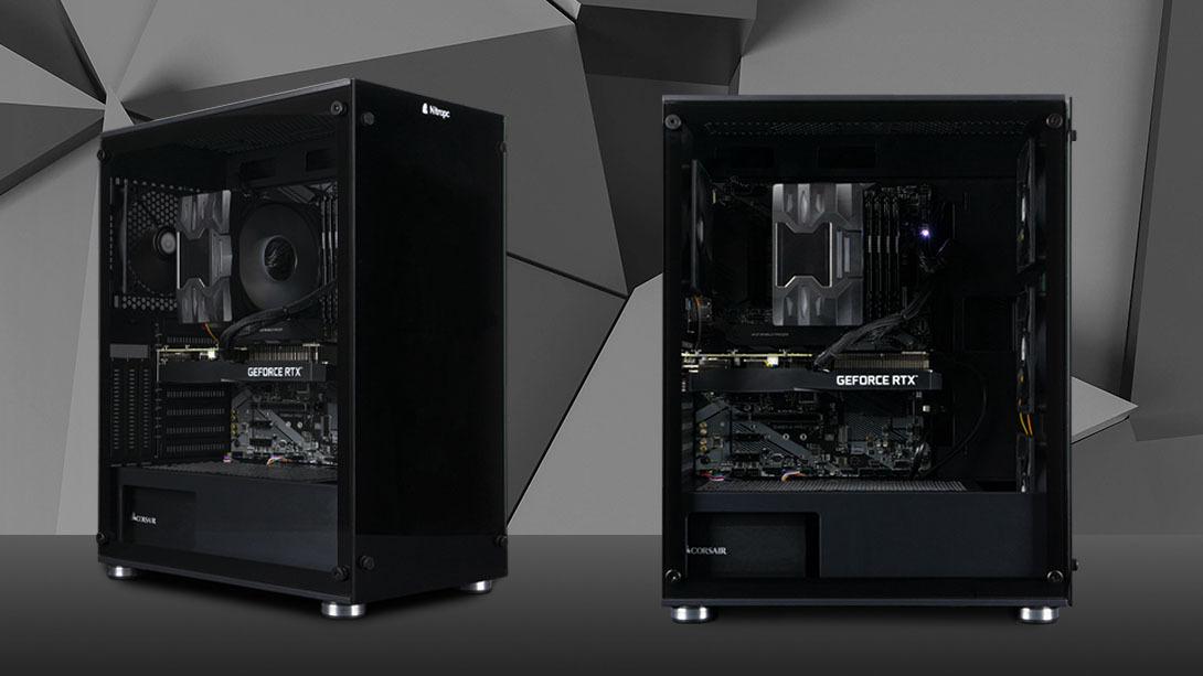 Los ordenadores perfectos para trabajar: Serie Nitropc Workstation Pro.