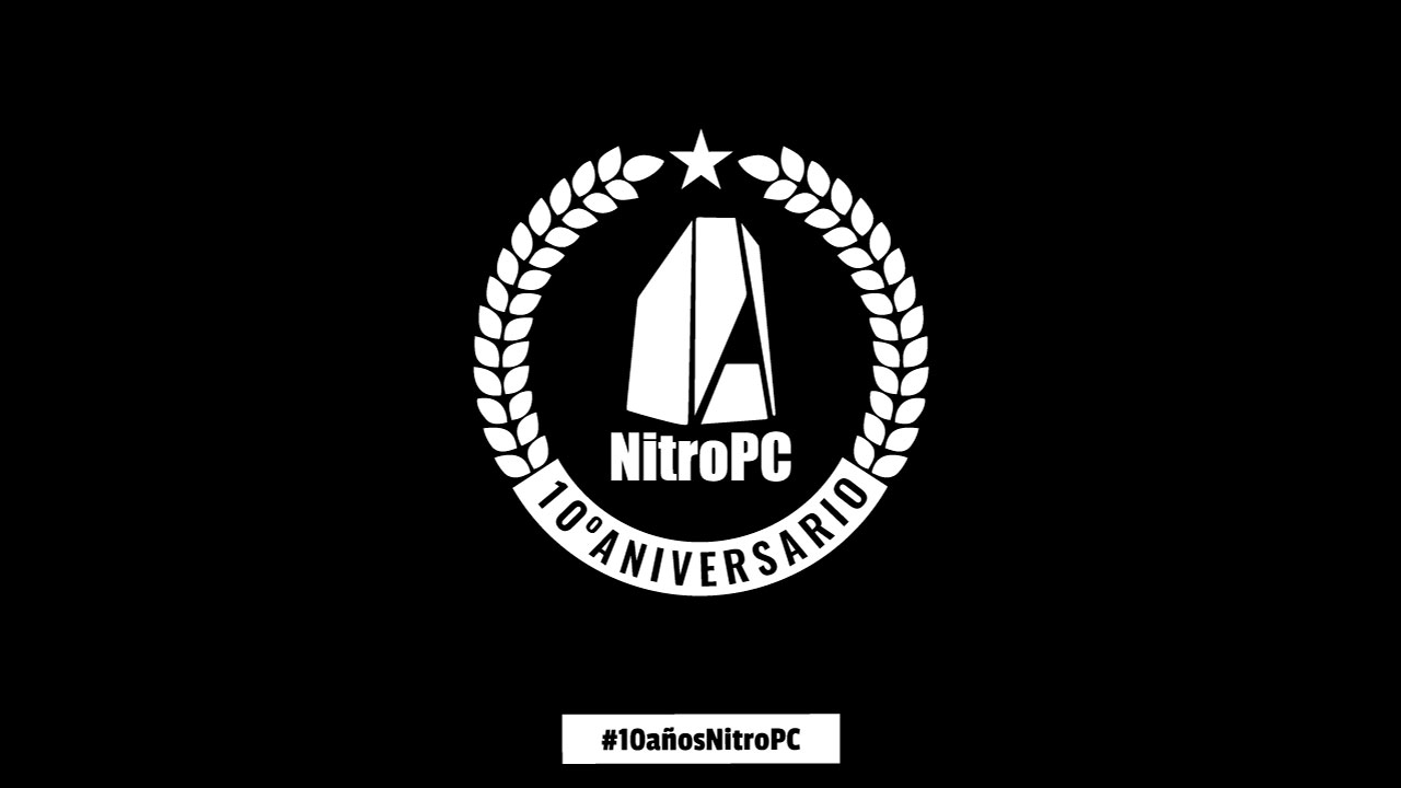 NitroPC cumple 10 años y vamos a celebrarlo contigo, ¿te apuntas?