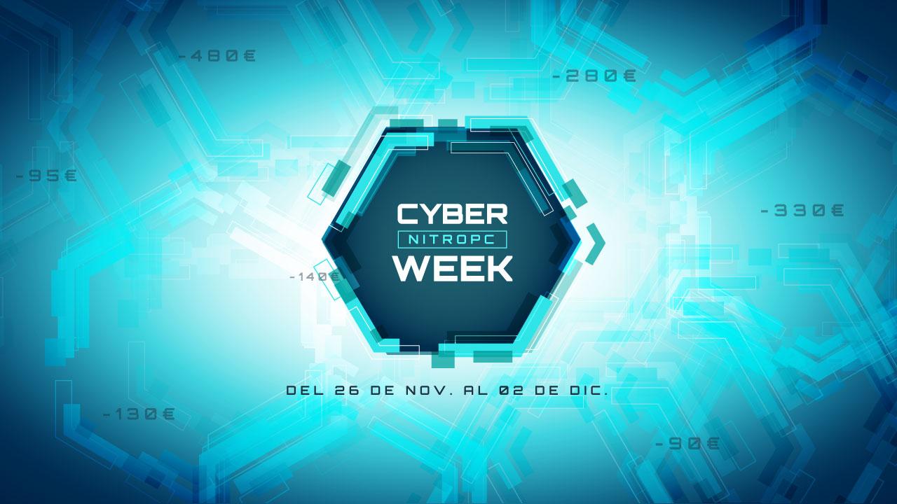 Cyber Week 2018 en NitroPC. Continúan las ofertas.