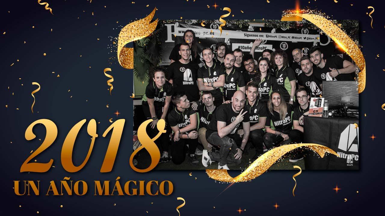 Resumen del año 2018 en NitroPC
