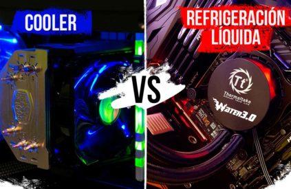 Refrigeración líquida vs Cooler