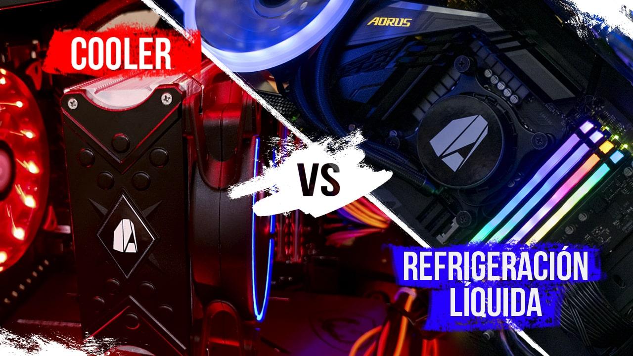 Refrigeración líquida vs Cooler. ¿Qué es mejor?