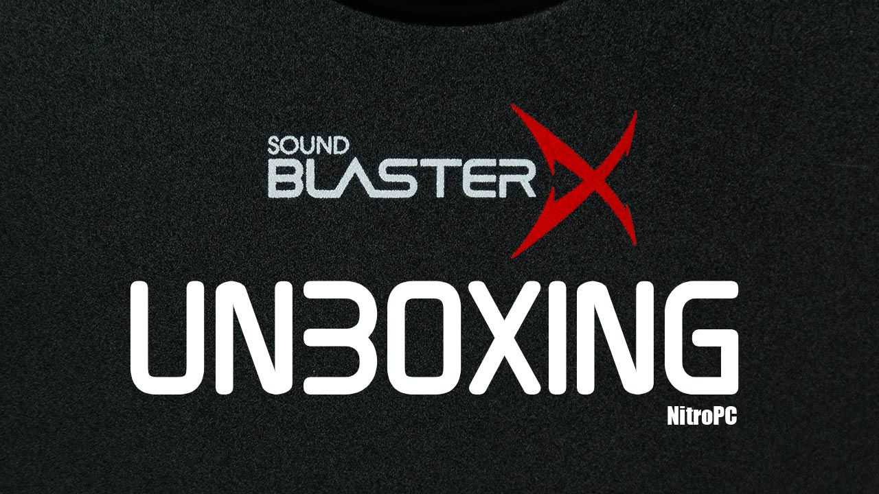 Sound BlasterX Kratos S3