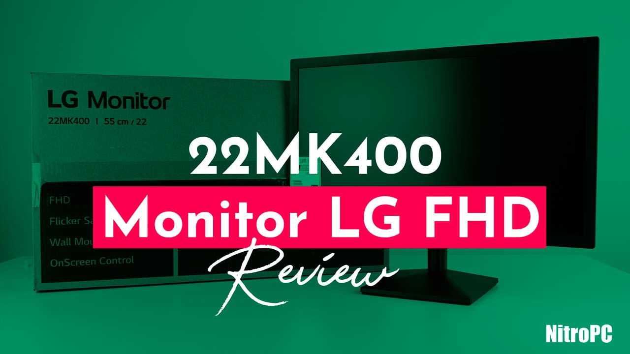 LG 22MK400H-B