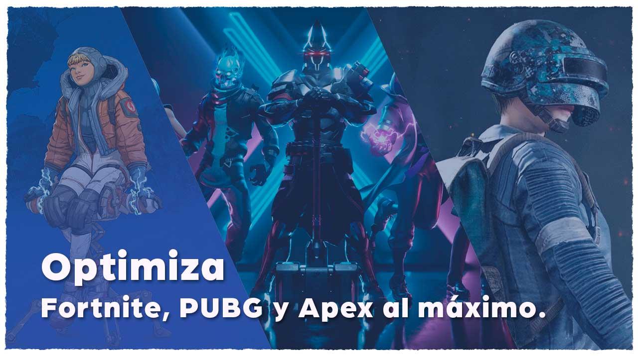 Optimiza Fortnite, PUBG y Apex Legends en tu NitroPC