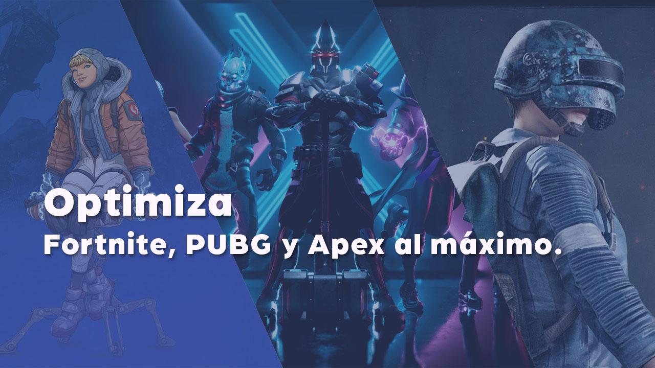 Optimiza Fortnite, PUBG y Apex Legends en tu NitroPC (2021)