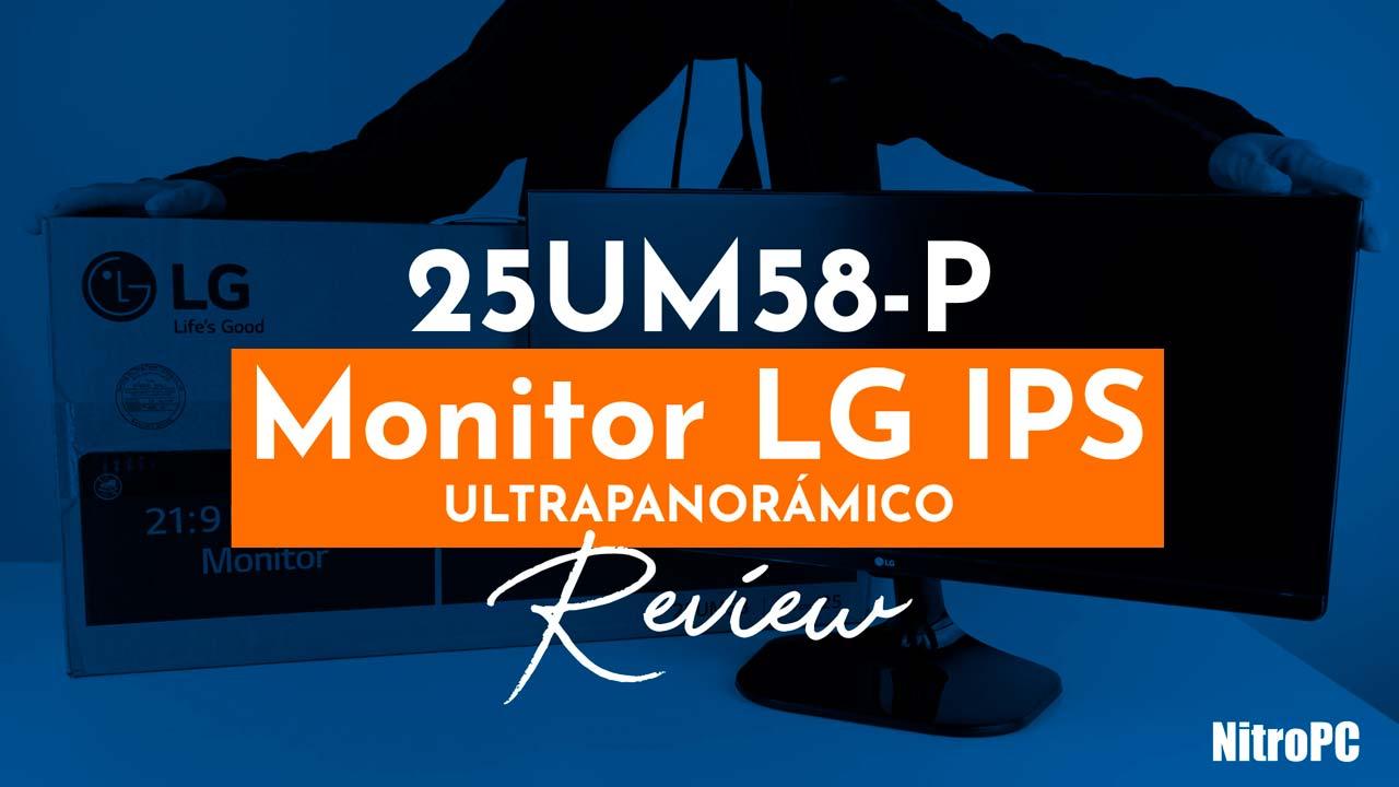 """LG 25UM58P 25"""" LED IPS Ultrawide"""