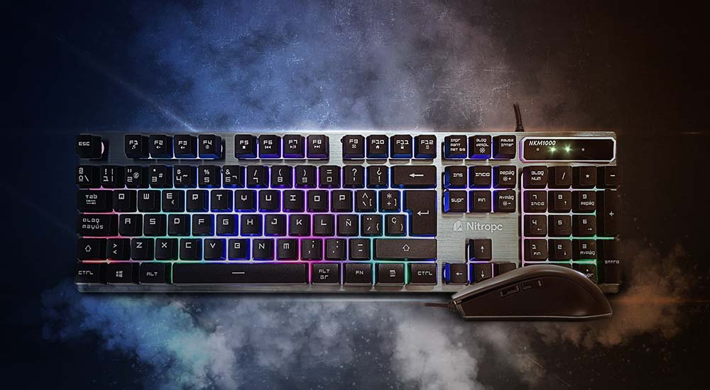 Pack teclado y ratón