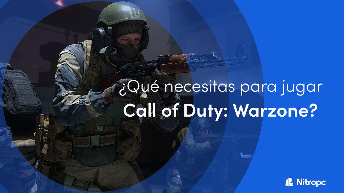 ¿Qué PC necesitas para jugar Call of Duty Warzone?