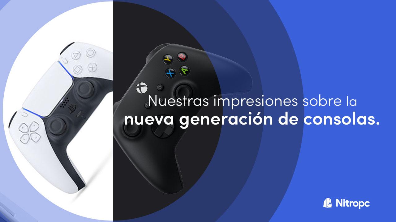 PlayStation 5 vs Xbox Series X: nuestras impresiones sobre la nueva generación.