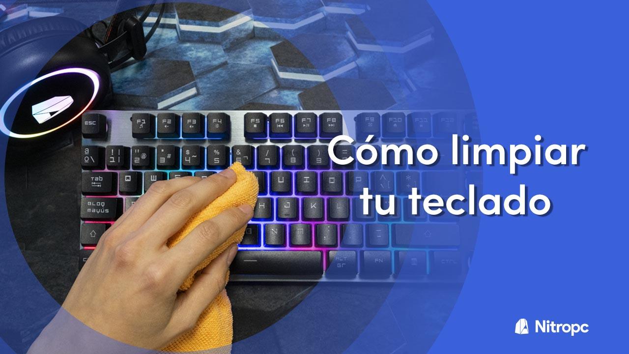 Cómo limpiar tu teclado mecánico o membrana correctamente (2021).