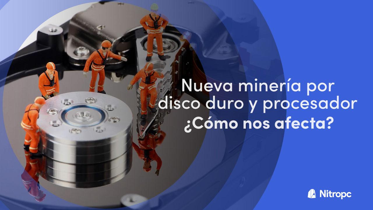 Minería por disco duro