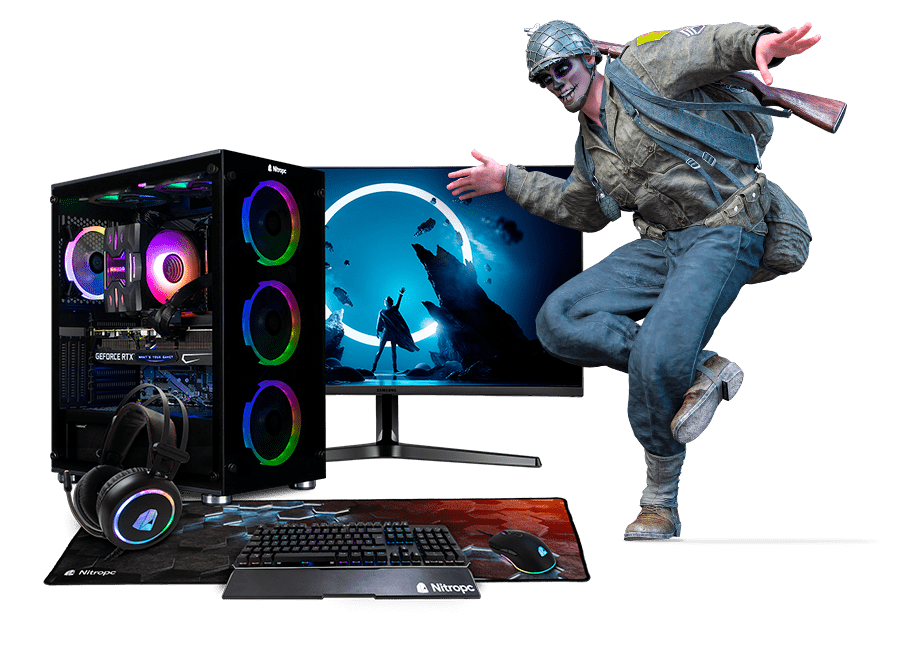 PC Gamer X 4GB GRAF